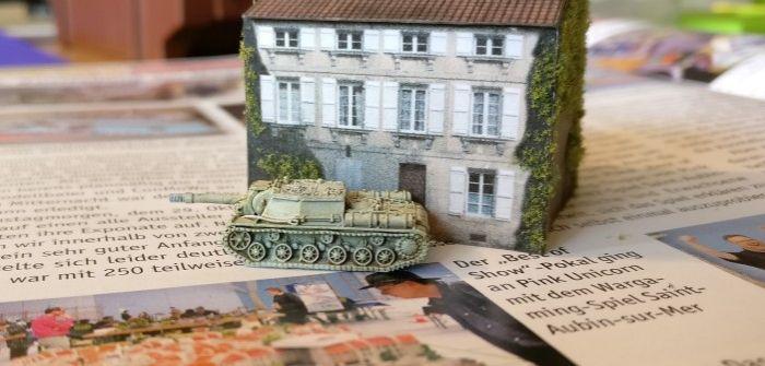 Papierhäuser, Treffermarker und fette Russentanks in 1:285 (6mm)