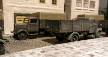 Pegasus 7610 Lkw Mercedes Benz L3000: Mehr Transportmöglichkeiten für die Sturmi Army
