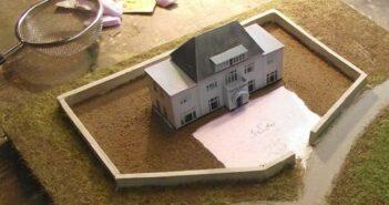lattenbau im Maßstab 1:285 #3: Häuslebau mit PC, Farbdrucker und festem Papier oder Karton