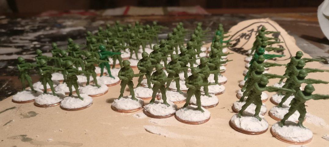 Die nächsten 60 Rekruten des 7th Marine Regiment.