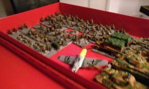 Die PBI-Armee für die Deutschen.