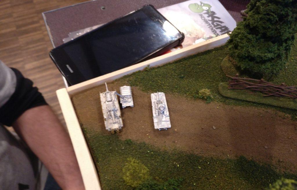 Der Munpanzer IV ist goldig. Demnächst werden wir die mal bepinseln.