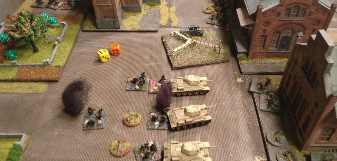 Der Artillerieschlag zeigt Wirkung.