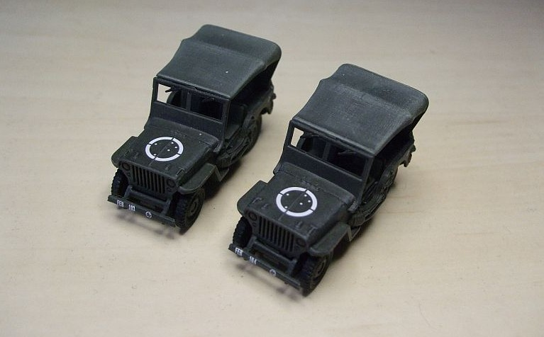 Willys MB Jeep der Brasilaner out of Box vom Italeri Fast assembly Kit 7506