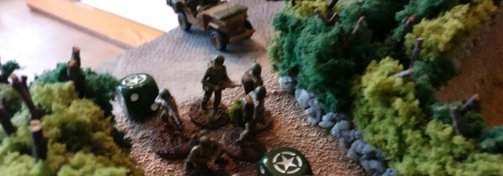 Ein weiterer US-Schützentrupp zieht nach.