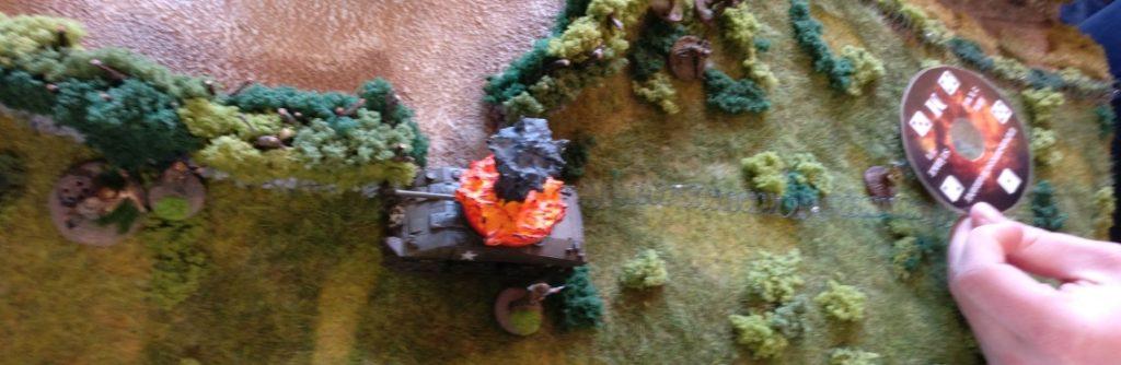 Der Mann am Granatwerfer belegt den zweiten US-Trupp ebenfalls mit Feuer.