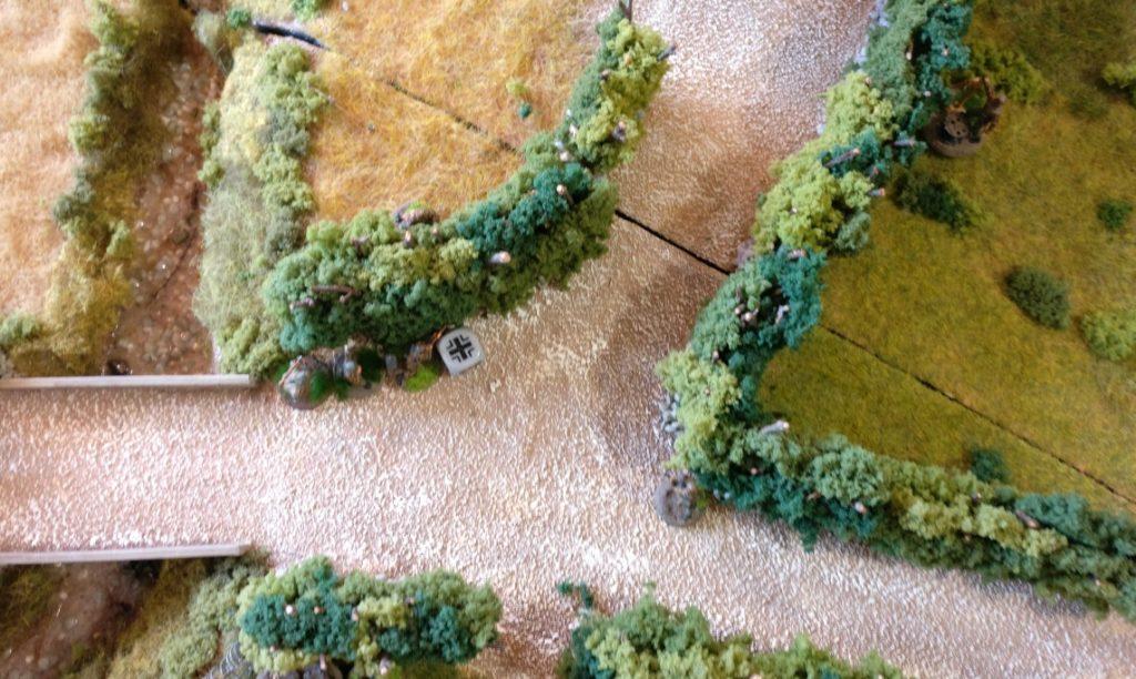 Den 8. Zug beginnt Rittmeister von Stürmisch recht bedacht. Man geht erstmal in Deckung und lässt den Gegner kommen.