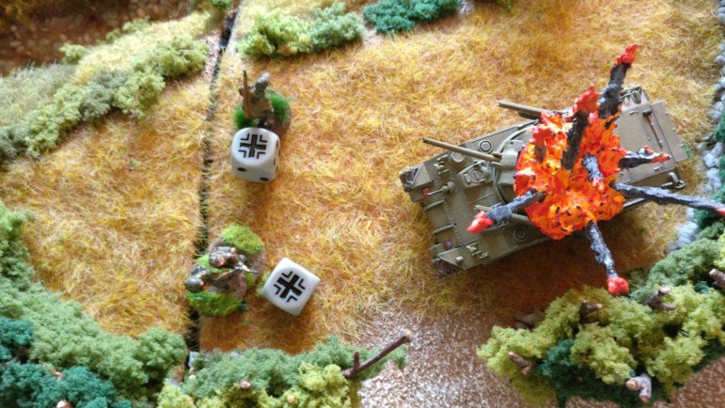 Damit haben zwei Grenadiere das Siel entschieden...