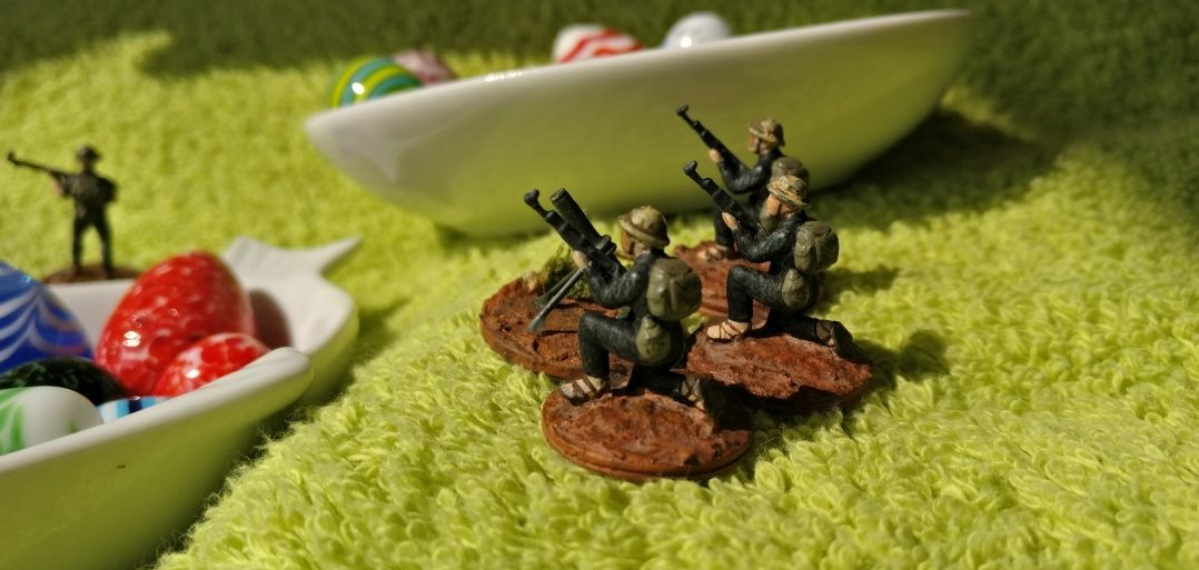 Ein Mörserlein des Vietcong. Man verteidigt den Schatz unter Einsatz aller Mittel!