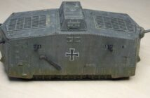 Sturmpanzerwagen A7V: very early war...