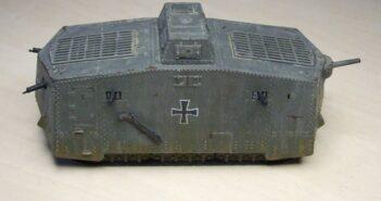Sturmpanzerwagen A7V: very early war...