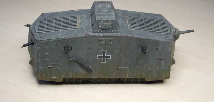 Sturmpanzerwagen A7V: very early war…