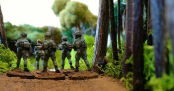 Vietnam-Spielplatte: Erstes Manöver vor dem großen Auftritt