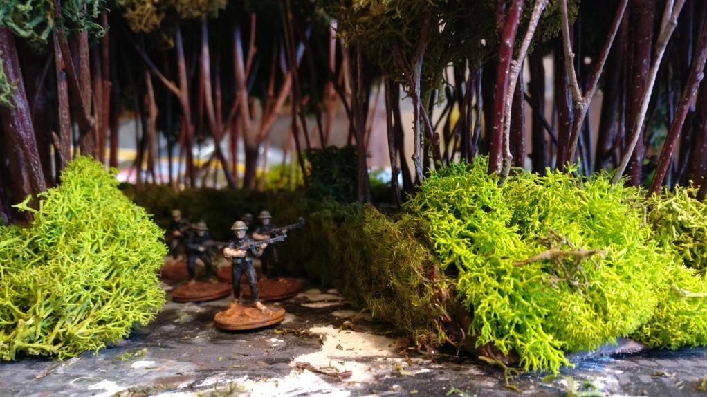 """Eine erneute Begehung durch den Vietcong ergab wieder Bestnoten  für unseren Landschaftsgärtner. """"Heli-Proof"""" hört man heraus."""