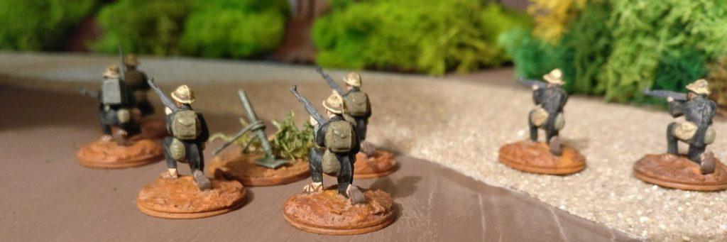 Den Mannschaftstransportern des Typs M113 können die Granatwerfer durchaus gefährlich werden.