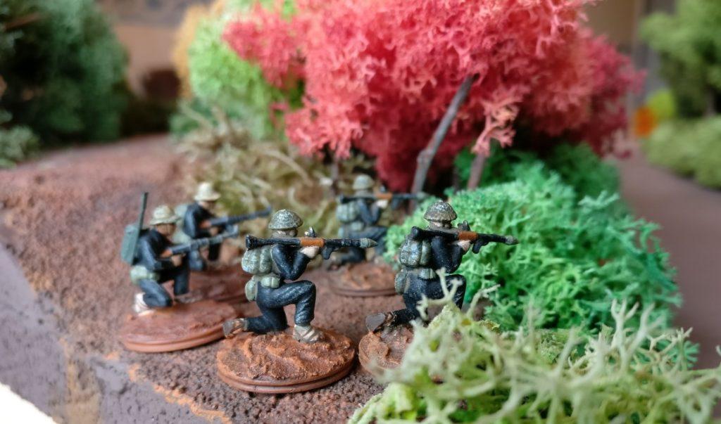 Das Hauptquartier von Charly wird durch einen zusätzlichen RPG-7-Trupp gesichert.