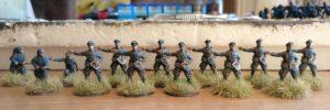 Heissa! Die 9. Infanterie-Division ist mit dem Grenadier-Regiment 57 in der russischen Steppe angekommen.