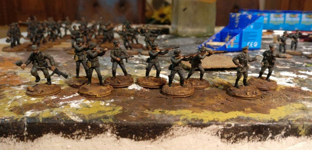 7 Schützen und 2 Offiziere für das Schützen-Regiment 113
