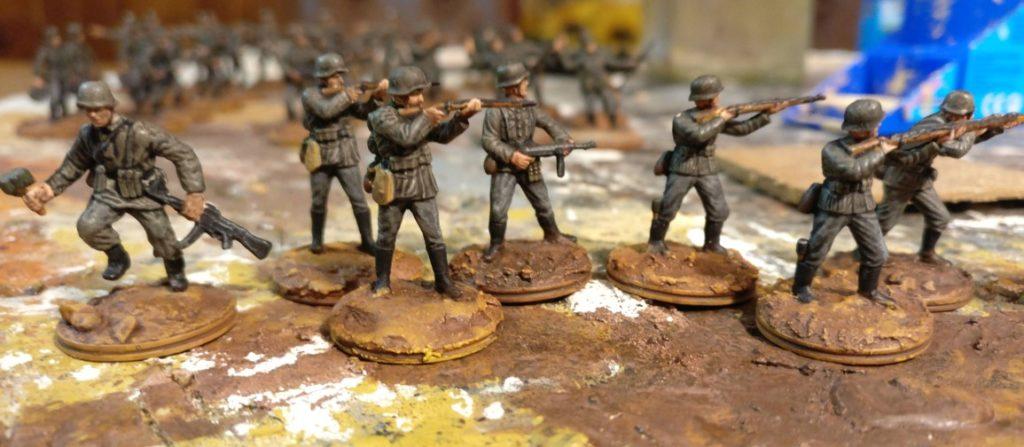 Der Einfluss von PBI ist nicht zu übersehen. Es werden viele Rifles rekrutiert.