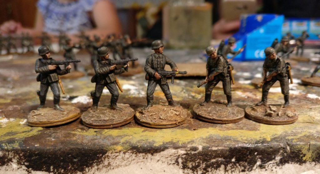 Fünf Schützen für das Schützen-Regiment 1