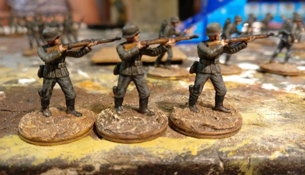 Drei Schützen für das Schützen-Regiment 1