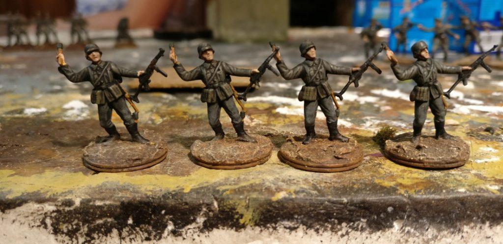 Vier Schützen für das Schützen-Regiment 1