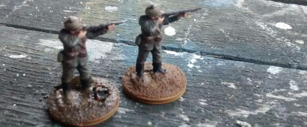 Operation Michael: zwei Schützen