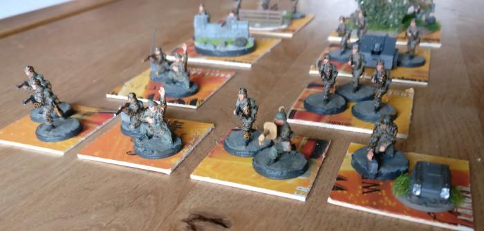 Poor Bloody Infantry: Squad-Bases für die Sturmi Army