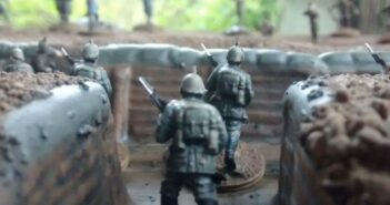 Airfix 1/72nd WWI Western Front Playset Diorama Set (A050060)