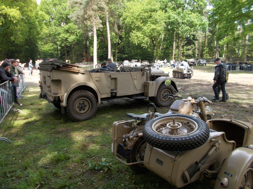 Horch 901 Typ 40 Kfz 15  auf der Militracks in Overloon