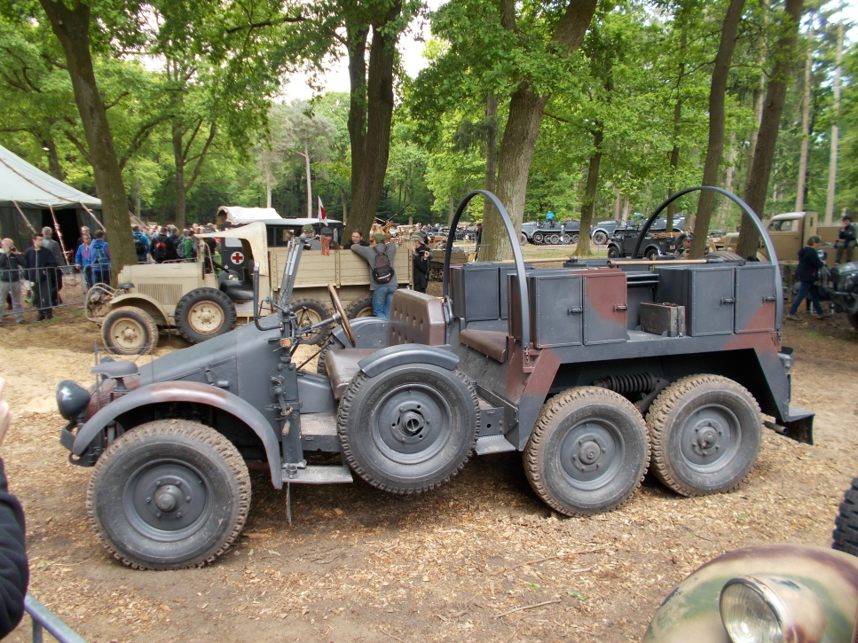 Krupp Protze L2H43 1,5t auf der Militracks in Overloon