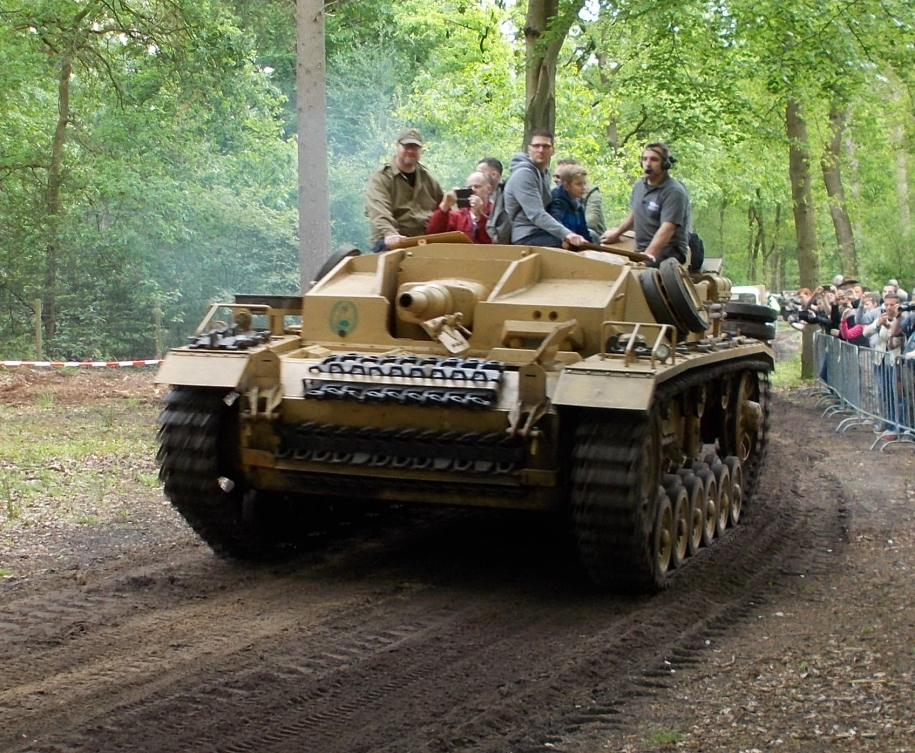 StuG III Ausf. B des Afrikakorps auf der Militracks in Overloon