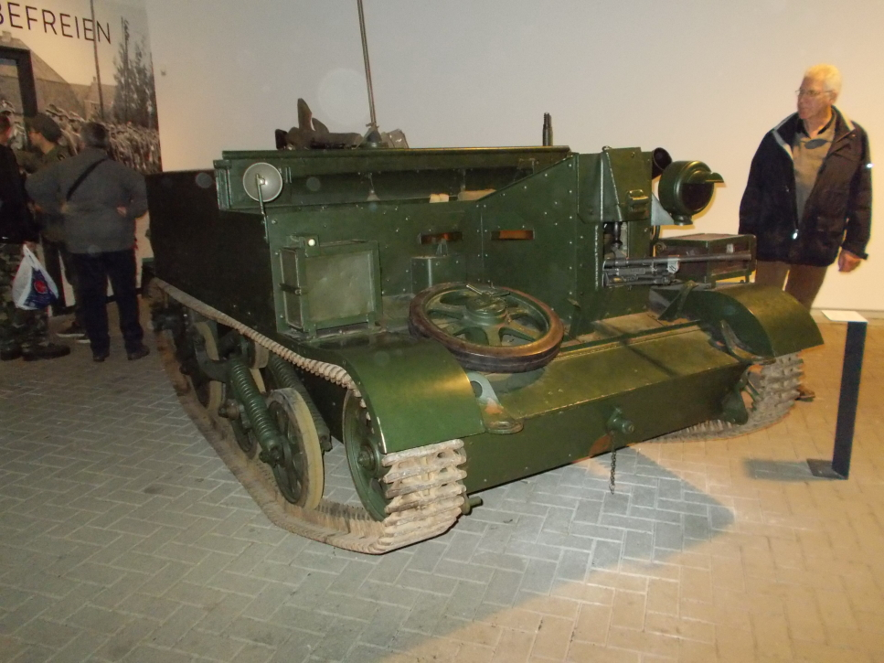 Bren Carrier auf der Militracks in Overloon