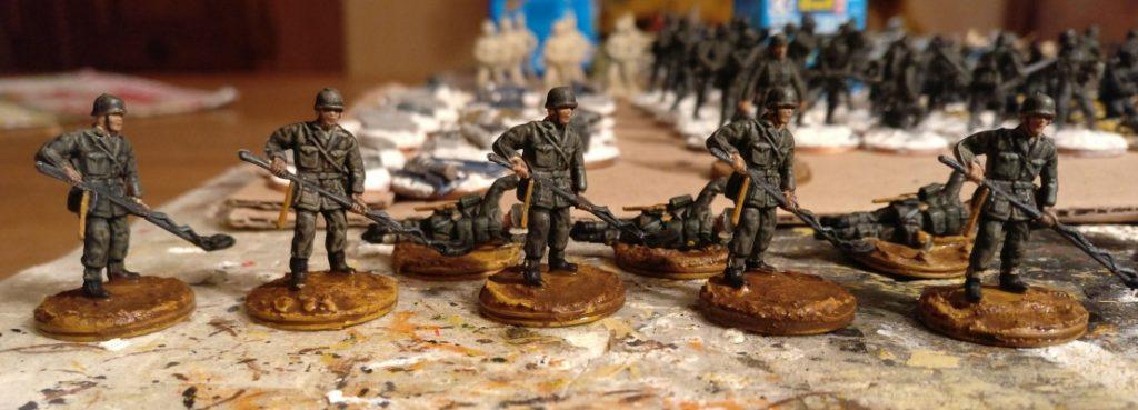 Die Herren Minensucher des  Pionier-Bataillon 37