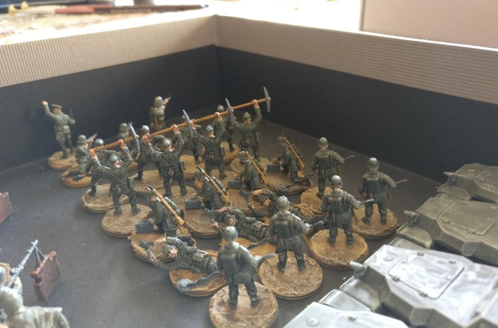 Das Pionier-Bataillon 37 wieder in der Kaserne...