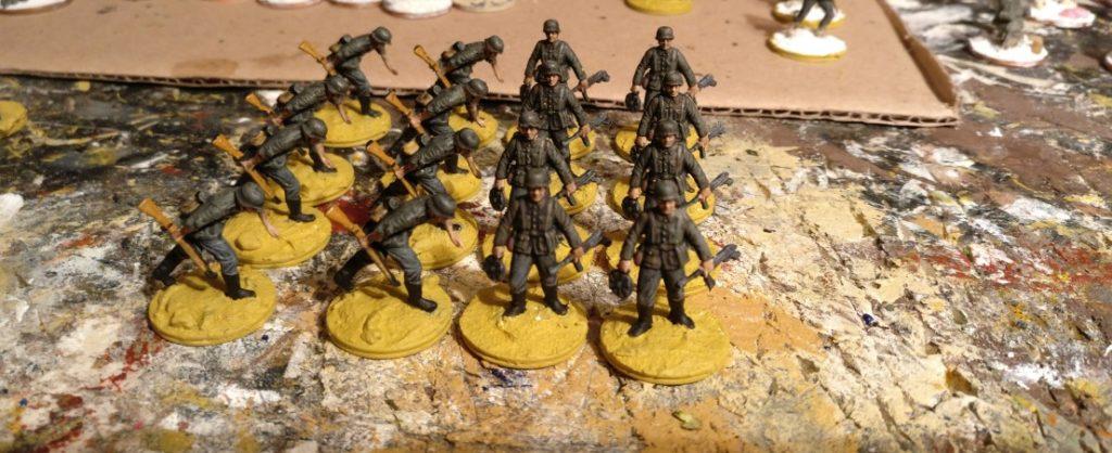 Alle 16 Schützen des Schützen-Regiment 1