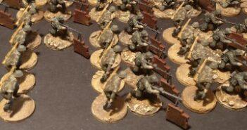 Kradschützen-Bataillon 40 vor Gomel