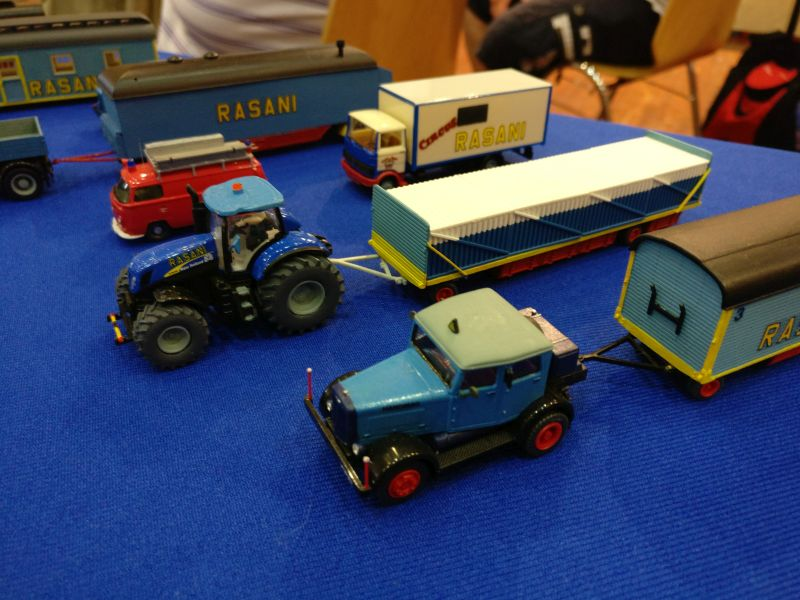 Lkw-Modelle von Norbert Armbruster