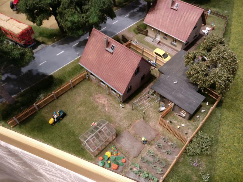 """Diorama """"Landwirtschaftlicher Betrieb"""""""