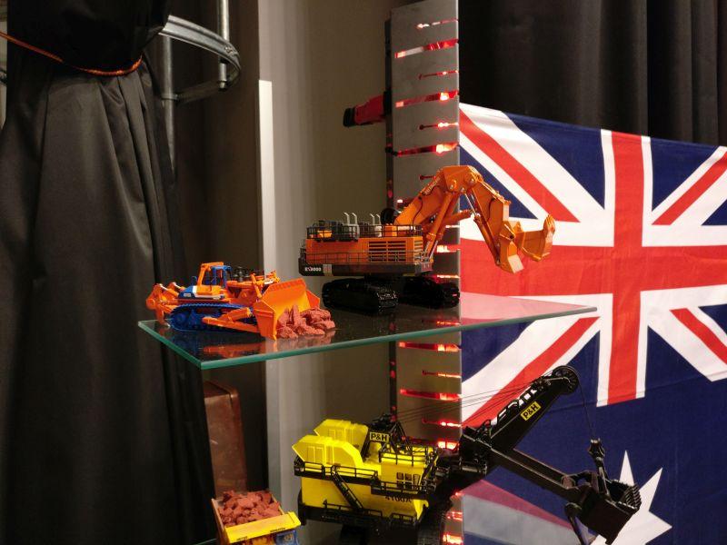 US-Diorama von Karl Gremmelspacher