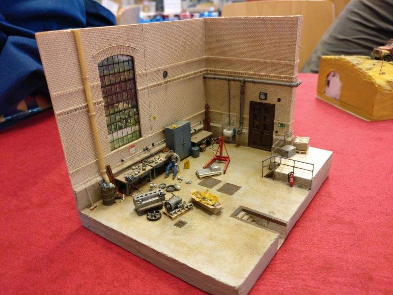 Gebäudemodellbau