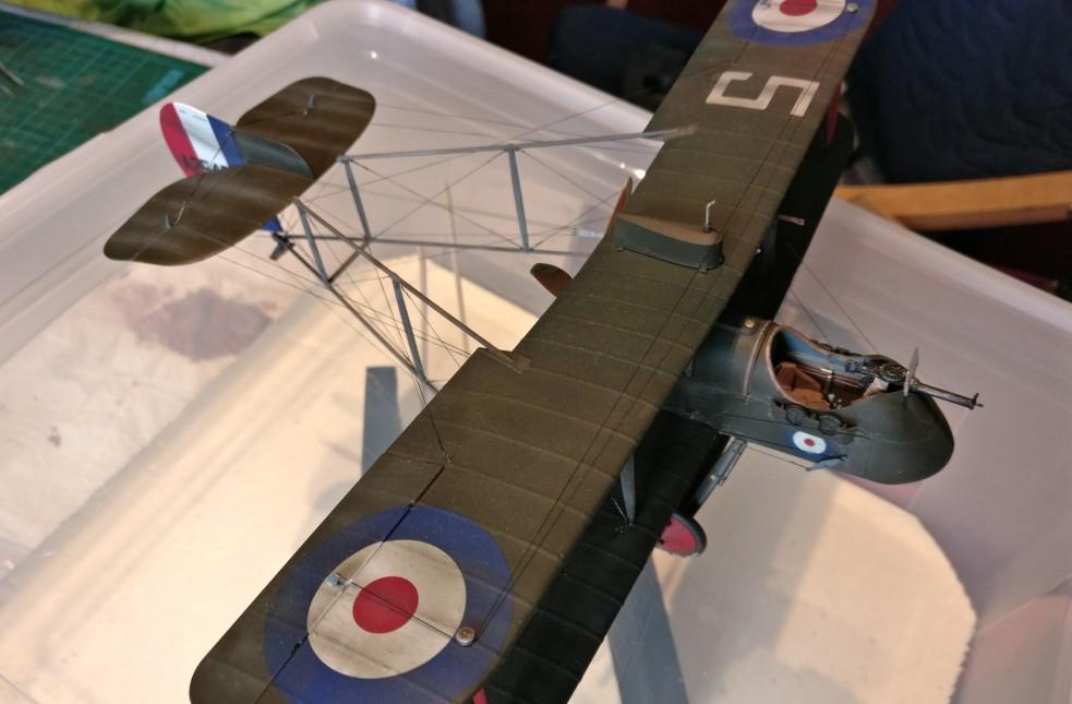 Der Wingnut Wings AMC DH.2 von Uni