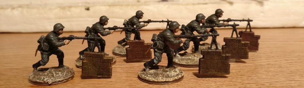Auch mal wieder ein paar MG-Schützen.