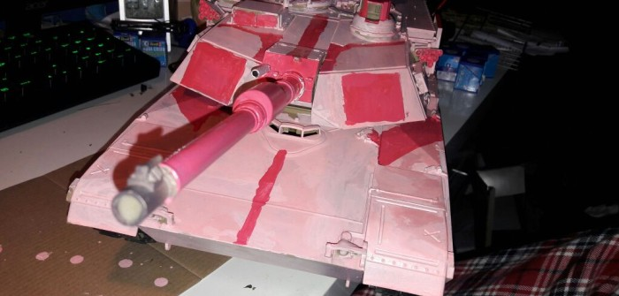Pink Panther: stilecht, farbecht, nichtschlecht!