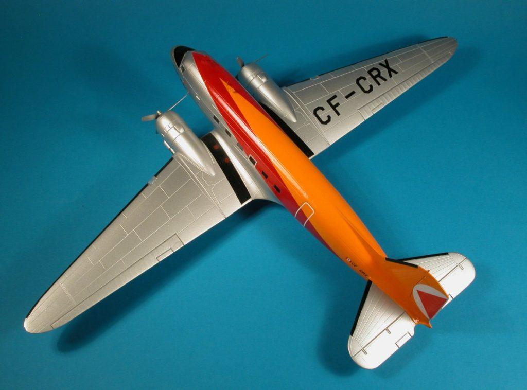 Der ehemalige Rosinenbomber als Modell von Italeri, hier in Diensten der Canadian Pacific Air Lines (CP Air).