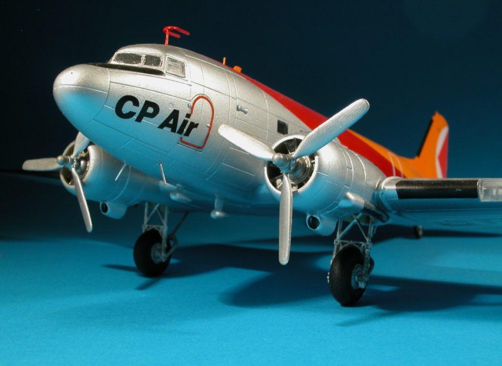 Der Italeri-Bausatz der DC-3/C-47 diente als Basis für dieses Modell.