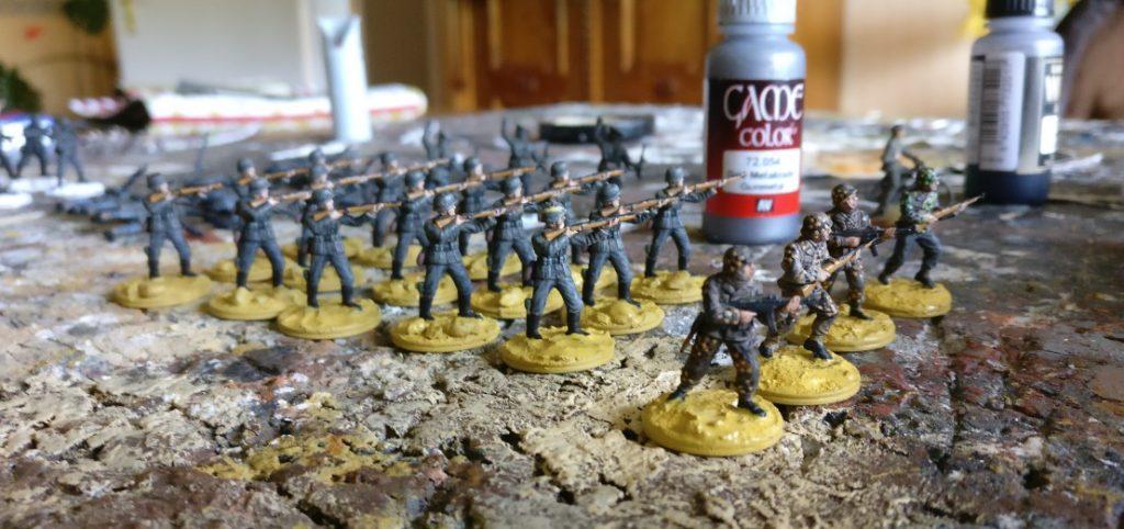 Hier ein erster Fortschritt: das Schützenregiment 1 wird wohl als erstes  Nachschub kriegen.