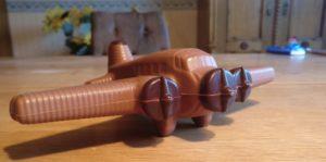 Die Schokoladen-Flugzeuge sind startbereit...