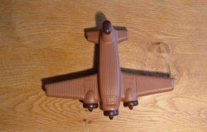 Schokoladen-Flugzeuge im Anflug auf Aschaffenburg