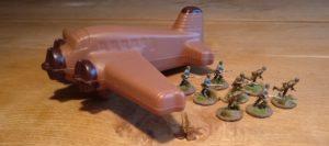 Spiel & Grill: davon künden die Schkoladen-Flugzeuge.